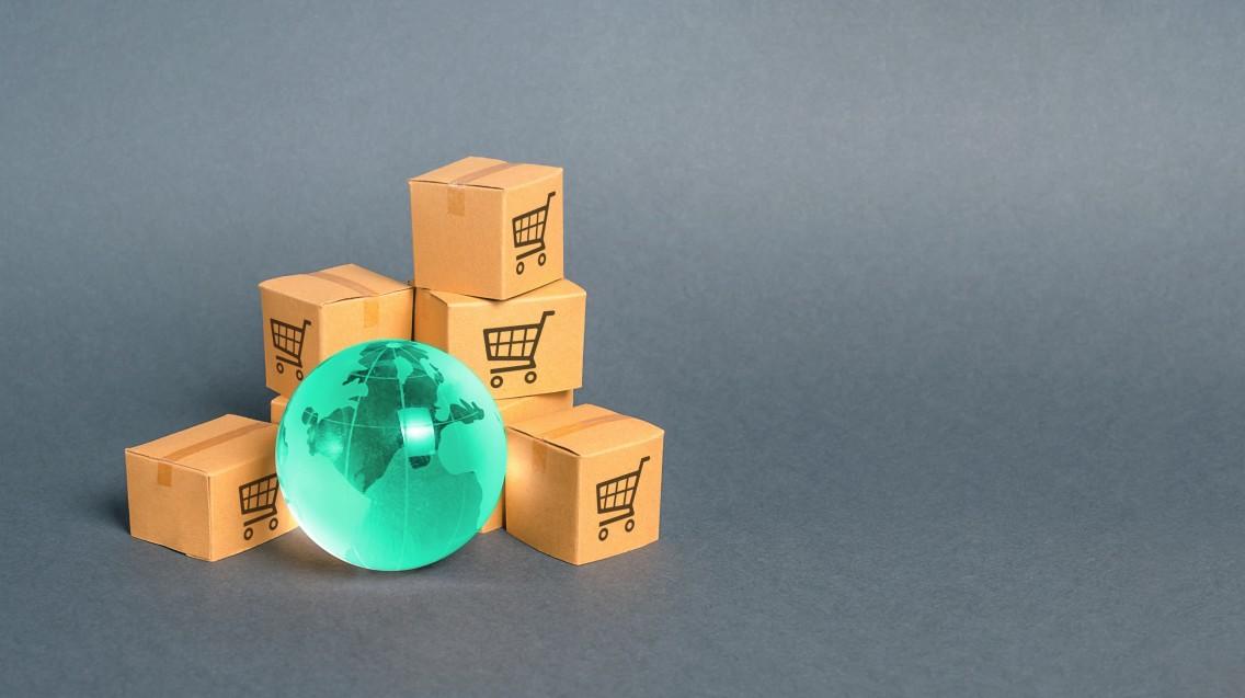 boxes-of-imported-goods-surrounding-world-globe