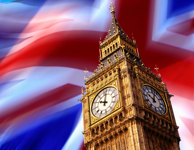 big-ben-in-front-of-union-jack-flag-background